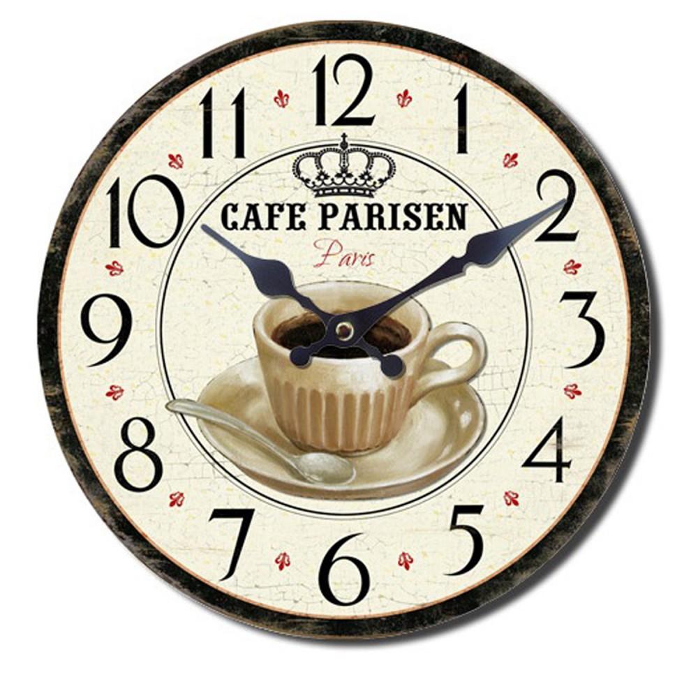 Horloge murale cuisine vintage retro oldtimer voiture - Horloge murale de cuisine ...