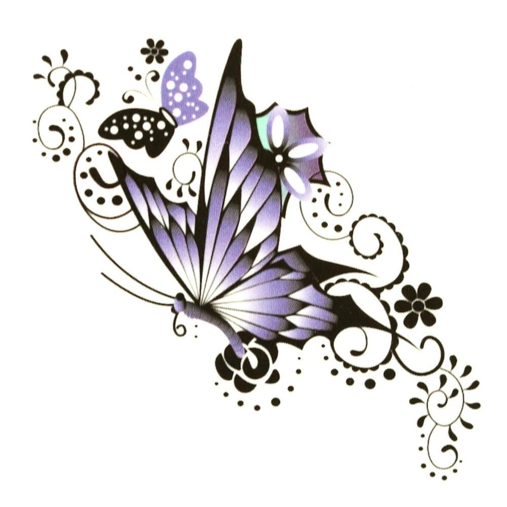 Tumundo Einmal Tattoo Klebe Tattoo Tempor 228 Res Tattoo Motiv Schmetterling Kussmund Feder Gecko
