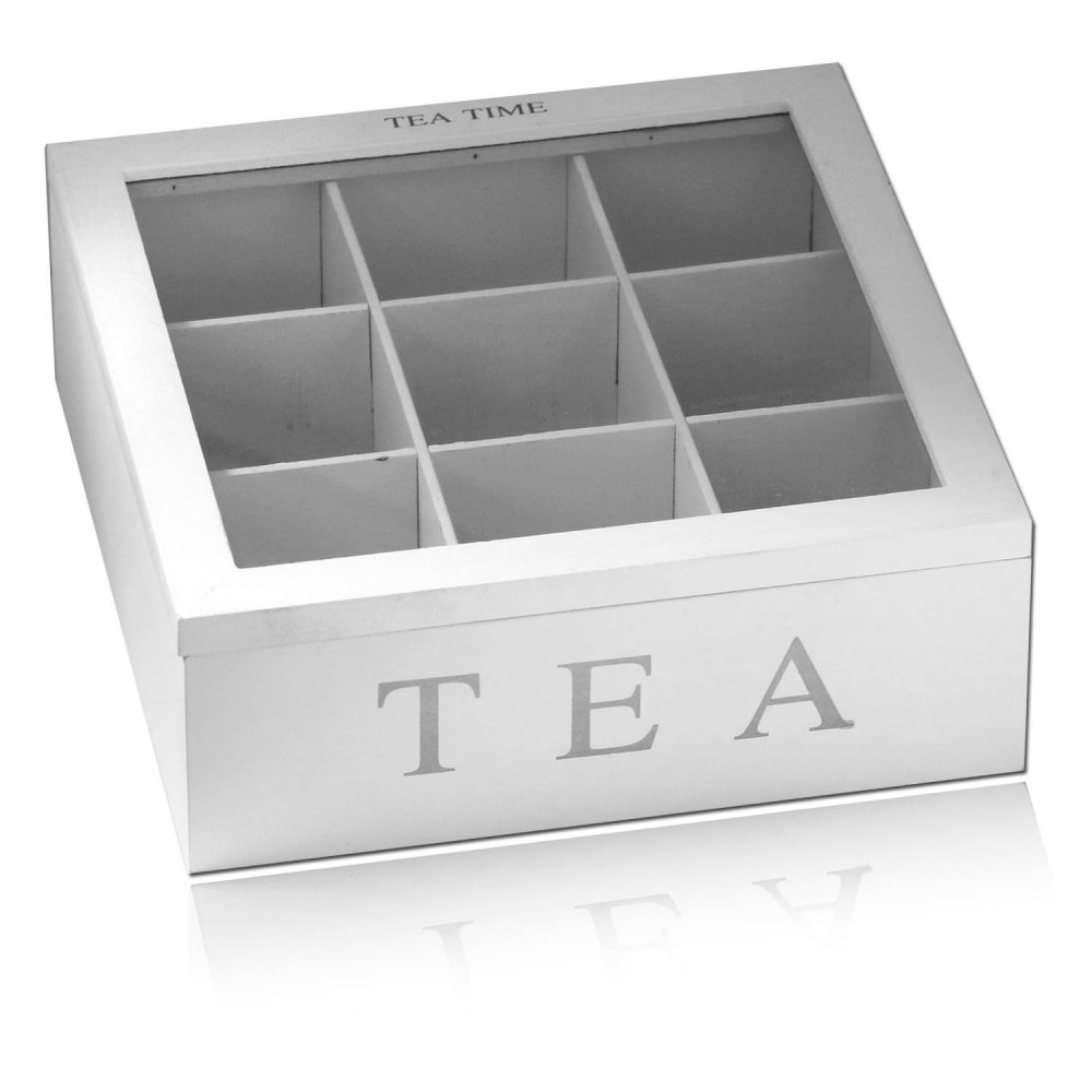 teebeutelhalter teebox holz teekiste teebeutel teebeutelbox tee box teekiste ebay. Black Bedroom Furniture Sets. Home Design Ideas